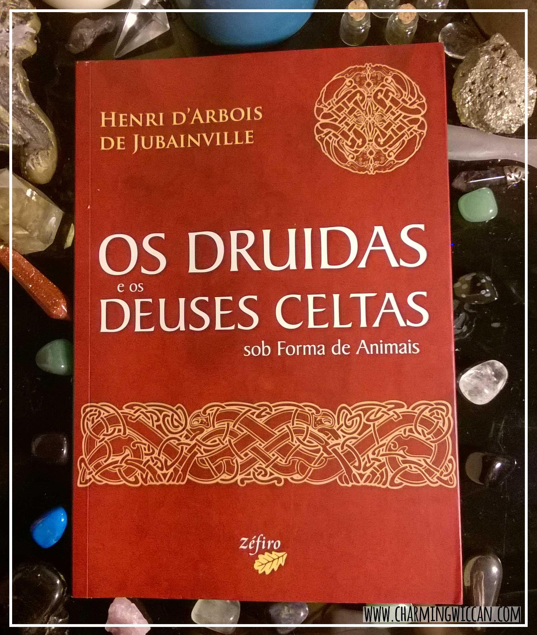 sexto dia - livro Os Druidas e os Deuses Celtas sob a forma de Animais #PEDAblogBr