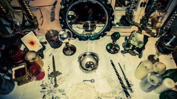 dispensar instrumentos ritualisticos